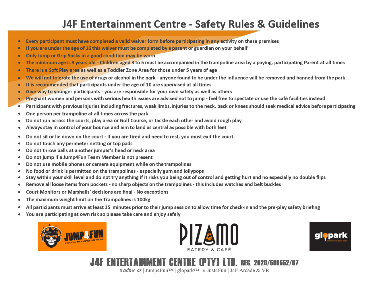 J4F Safety Signage picture 1